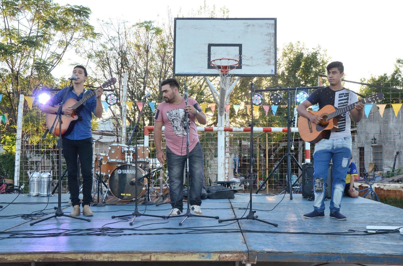 """Inscriben a Vecinales para participar de """"Mi barrio tiene música"""""""