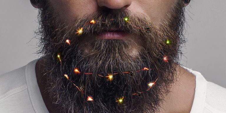 Celebrá las fiestas al mejor estilo hipster con estas luces de barba
