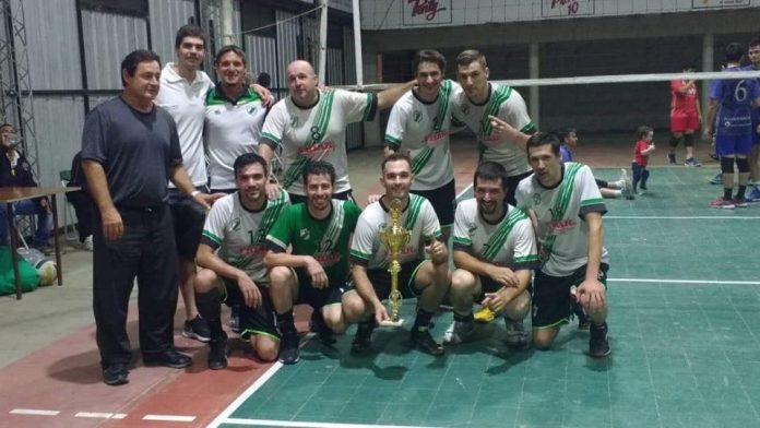 Cañeros de Moussy ganó la Copa de vóley por el Aniversario de Avellaneda