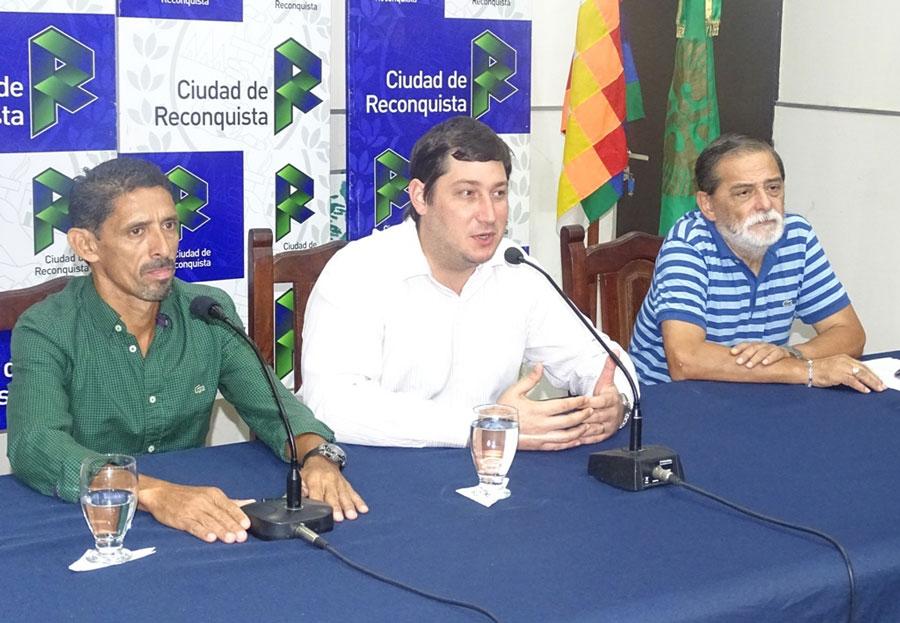 Lanzamiento Triatlón «Ciudad de Reconquista»