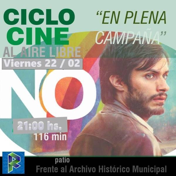 """Ciclo de cine: """"En plena campaña"""""""