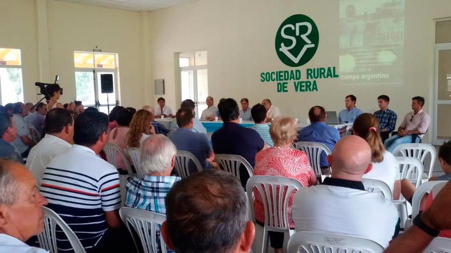 Concurrencia de productores en Vera para analizar el desastre por las inundaciones