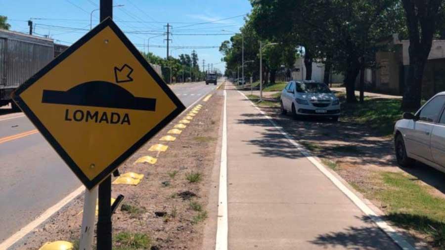 Finalizó la pavimentación del acceso al Parque Industrial de Avellaneda