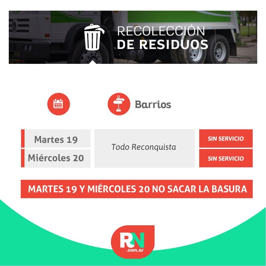 Servicio de recolección de residuos