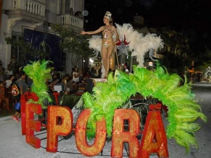Comparsa Koé Porá fue la ganadora del Carnaval de Reconquista