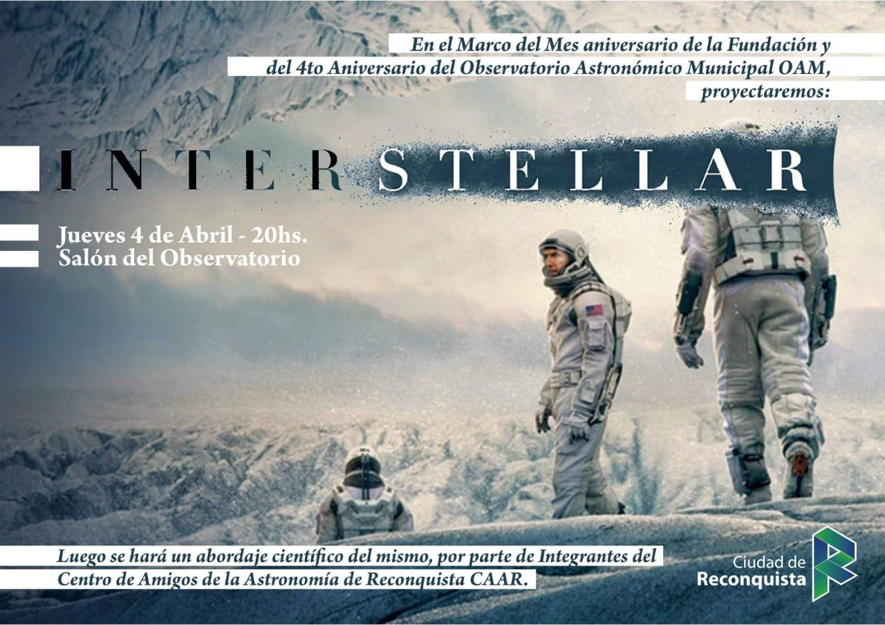 """Cine en el paseo: esta noche """"Interstellar"""""""