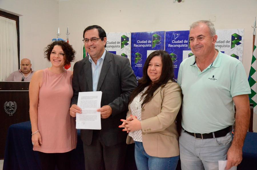 Convenio saludable entre la UNR y el Gobierno de Reconquista