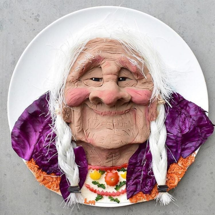 Crea obras de arte comestibles para hacer más atractivas las comidas