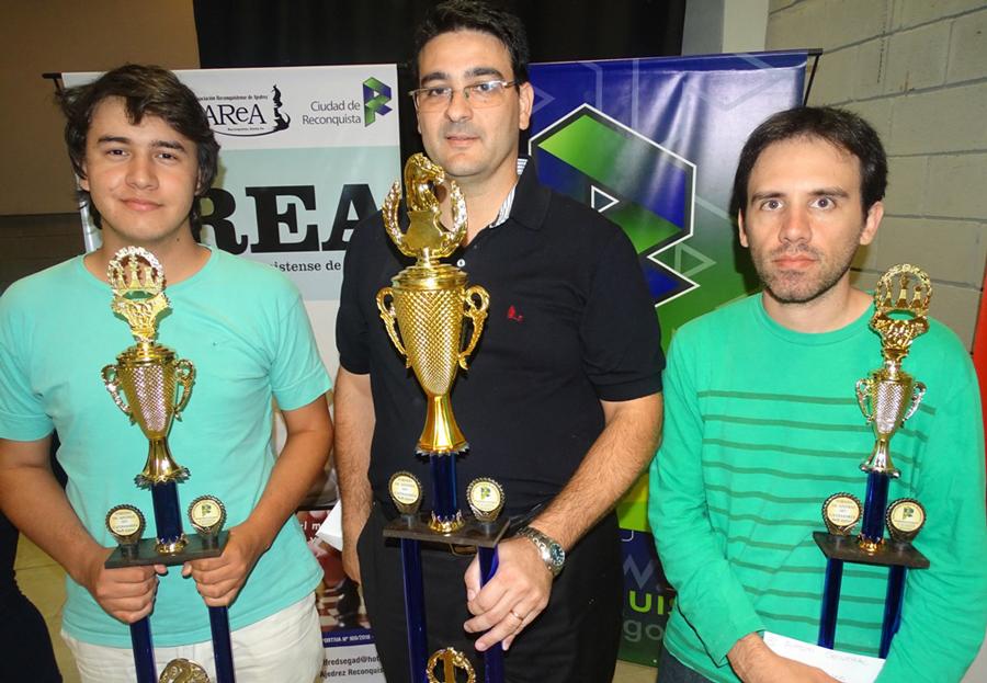 Segado ganó la «Copa Activa» en ajedrez