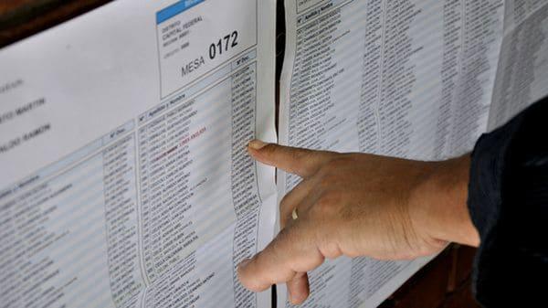 Ya podés consultar el padrón definitivo para las elecciones