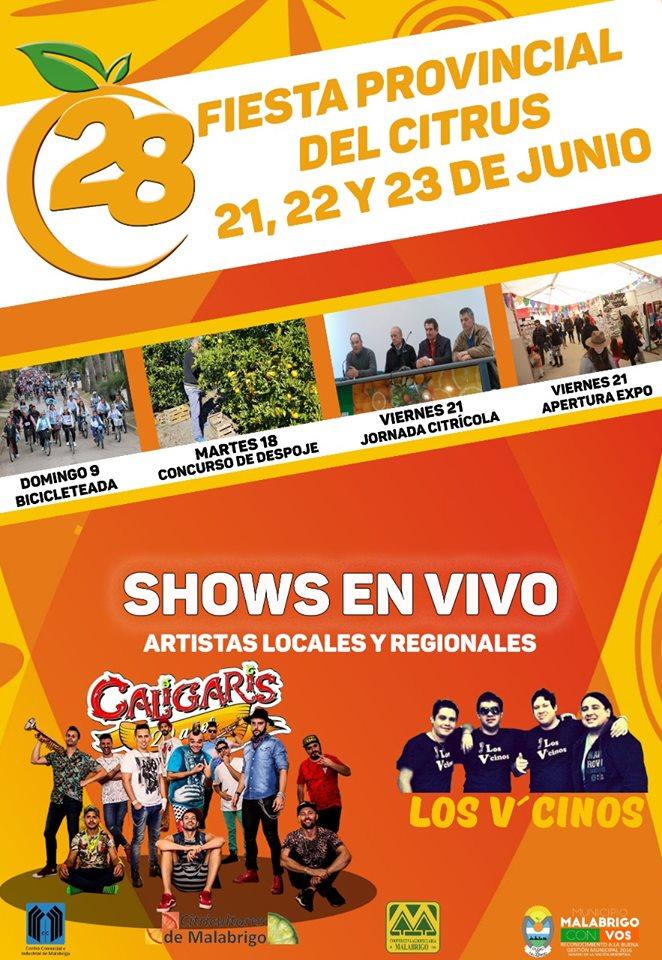 Presentación Oficial de la XXVlll Fiesta Provincial del Citrus