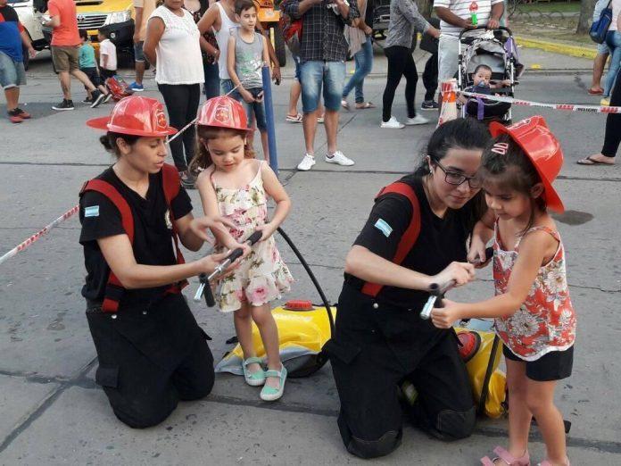 Celebración del Día Nacional del Bombero Voluntario