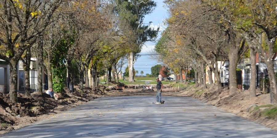 Más cuadras de Pavimento en Malabrigo