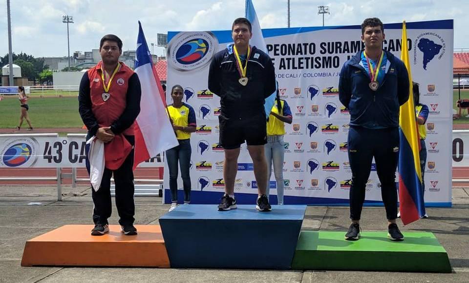 Julio Nóbile se consagró Campeón Sudamericano en Colombia