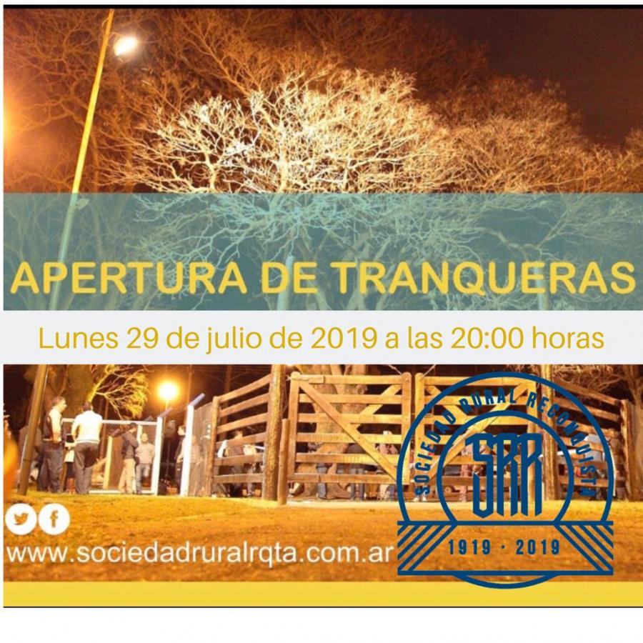 Hoy lunes se realizará la apertura de tranqueras de la Expo Rural 2019