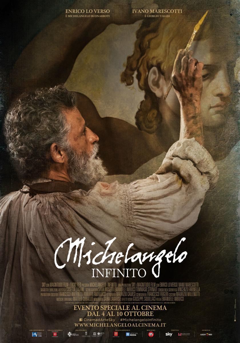 """Hoy martes darán la película """"Michelangelo Infinito"""""""