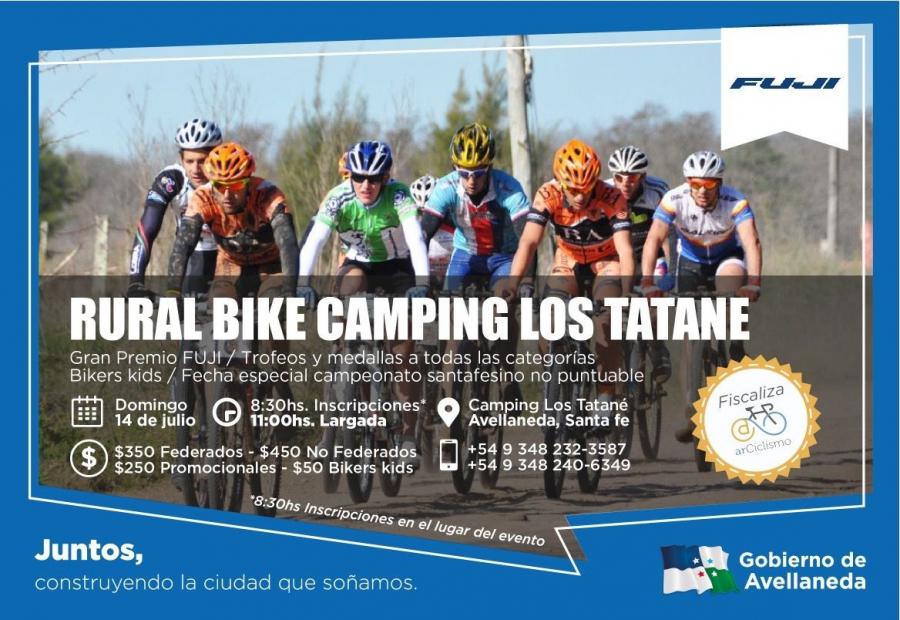 Rural Bike en el Camping Municipal de Avellaneda