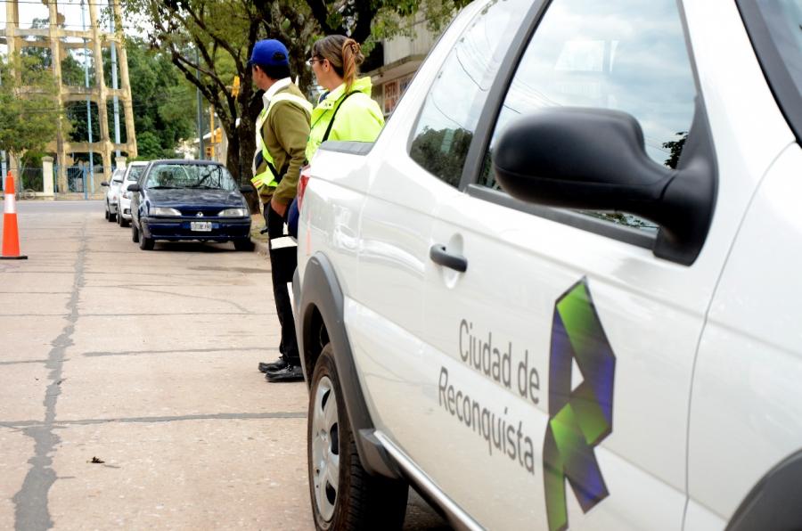 Controles de tránsito del fin de semana en Reconquista