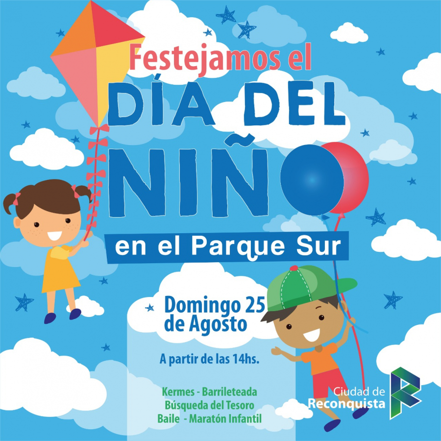 Este domingo festejá el Día del Niño en el Parque Sur