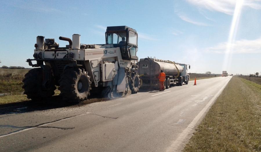 Avanza a buen ritmo la reconstrucción de la Ruta 11 en Chaco y Santa Fe