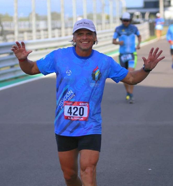 Alejandro Almirón viaja a Grecia para correr el Spartathlon