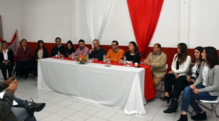 Scarpin presentó a quienes lo acompañarán en la próxima gestión de gobierno