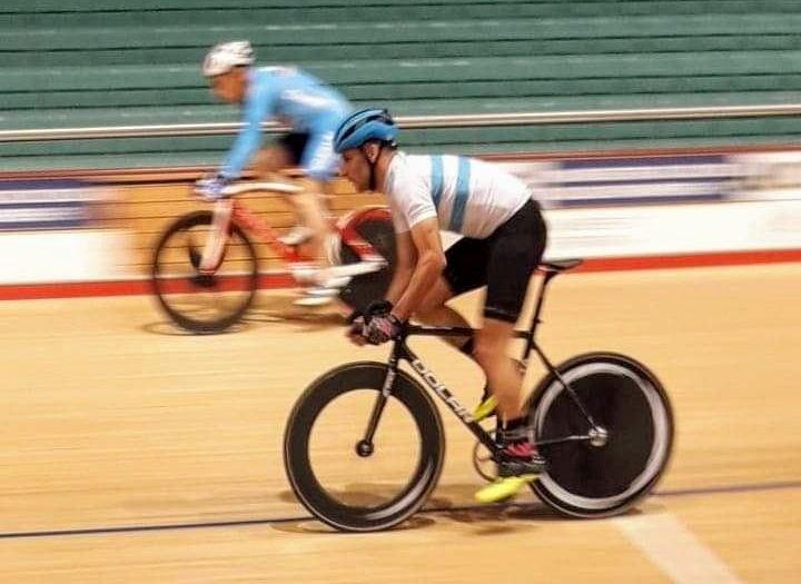 Ciclismo: Cristian Sotelo hizo su debut mundialista en Inglaterra