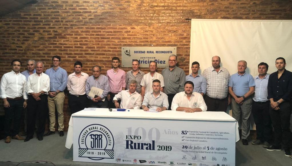 La Sociedad Rural de Reconquista renovó su Comisión Directiva