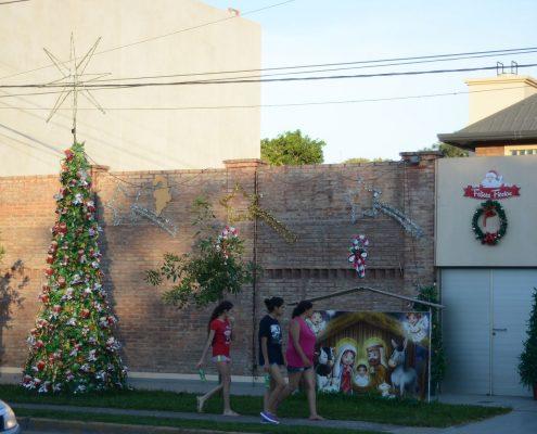 Los frentes ya se visten de Navidad