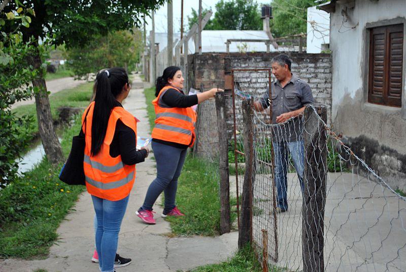 Vera: comenzó la campaña de prevención contra el Dengue, Zika y Chikungunya
