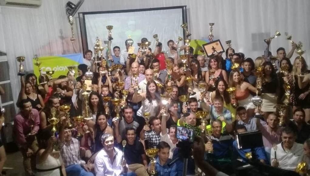 Se realizó la entrega de premios del Campeonato Playcom 2019