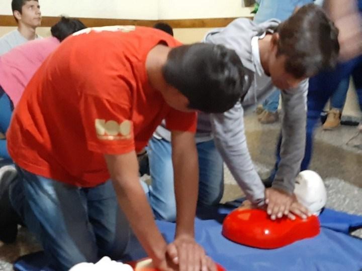 Llevan a cabo programa de capacitación en RCP en Escuelas Especiales