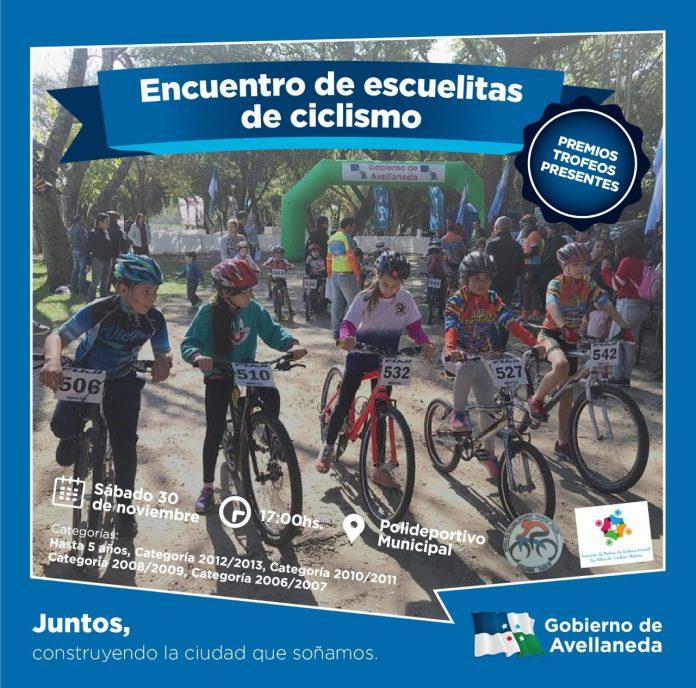 Encuentro de Escuelitas de Ciclismo