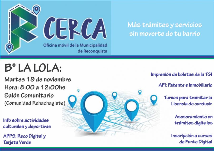 La Oficina Móvil «Re Cerca» llega a La Lola y Barros Pazos
