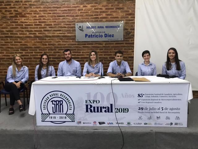 Nueva Comisión Directiva del Ateneo Juvenil de la Sociedad Rural de Reconquista