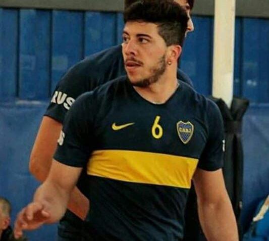 Voley: el ocampense Tomás Steeman reconocido por Boca Juniors