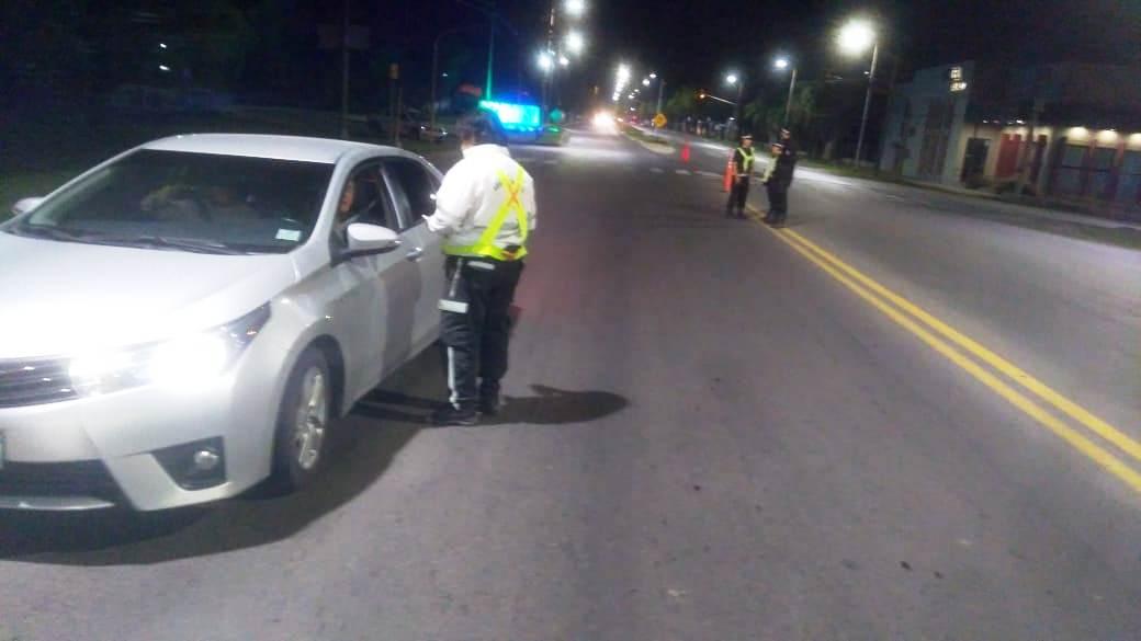Controles de tránsito: se retuvieron 17 motos y 7 autos por diferentes infracciones