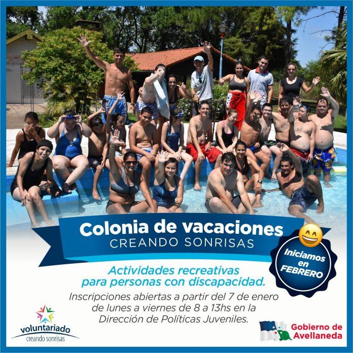 Últimos días de inscripción para la Colonia de Vacaciones a personas con discapacidad