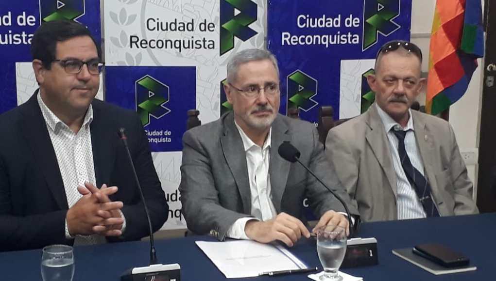 Trabajarán para instalar el 911 en Reconquista