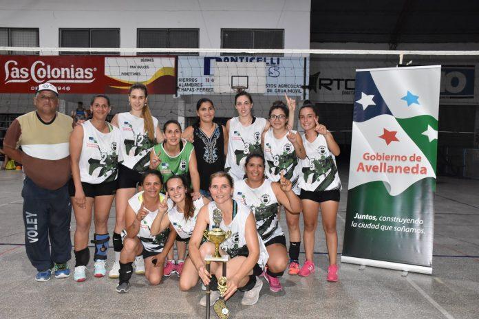 Voley femenino: Tigre se llevó la Copa Ciudad de Avellaneda