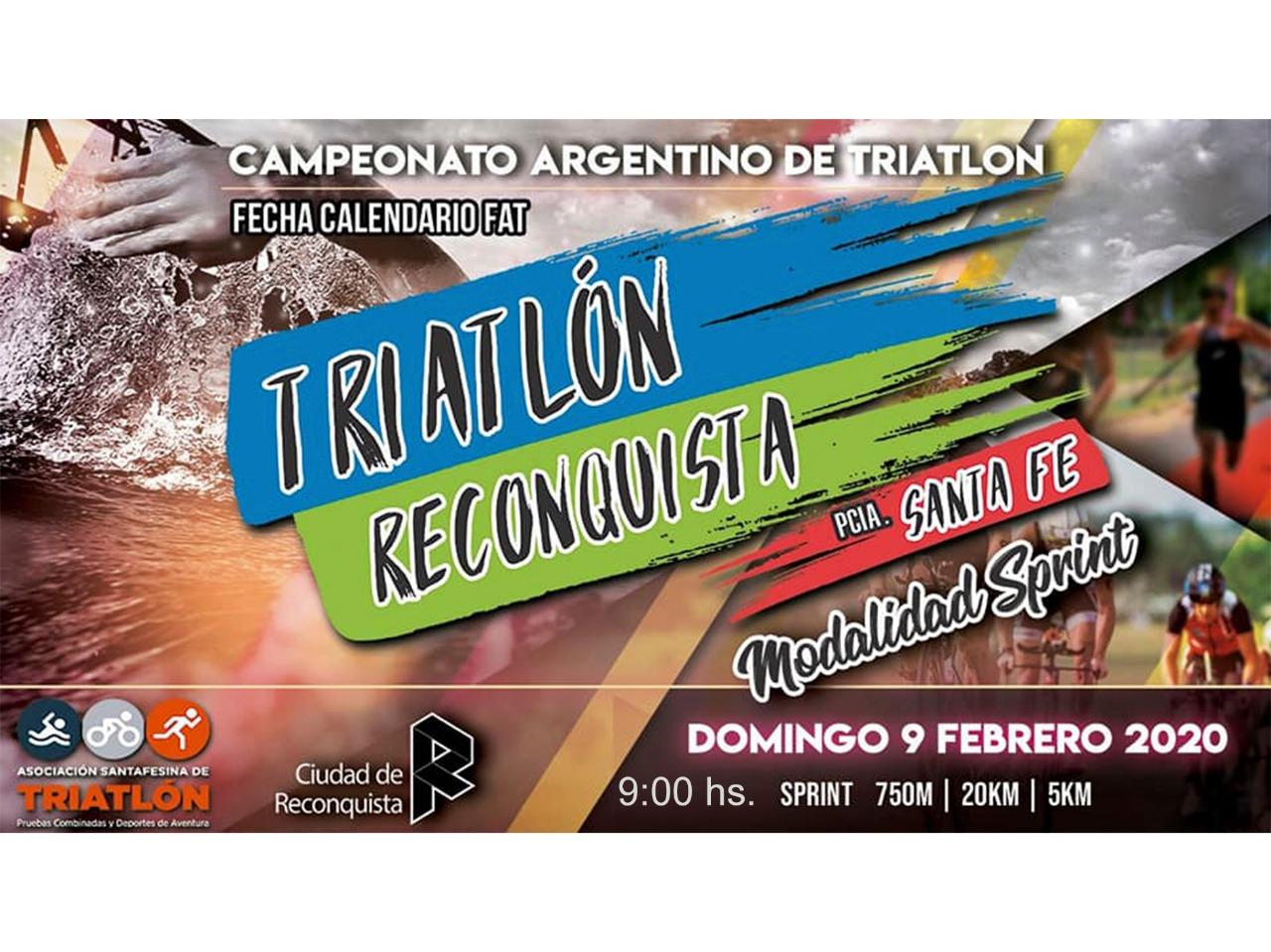 Triatlón: corte total de tránsito hacia y desde Puerto Reconquista