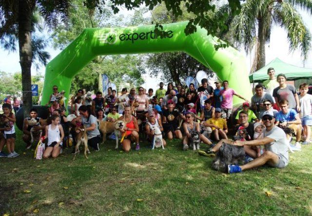 Con 84 participantes se cumplió con el 1° Dog Running
