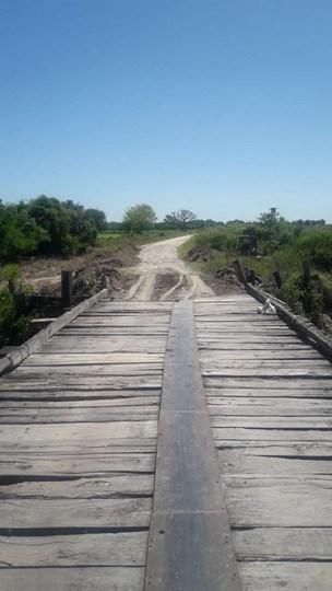 Se restableció el tránsito en puente sobre Ruta 58, entre Romang y Durán