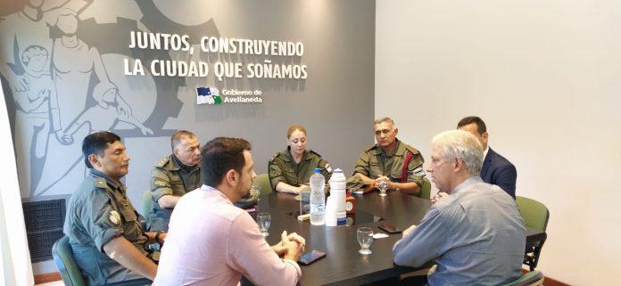Reunión con el nuevo Comandante Regional de Gendarmería
