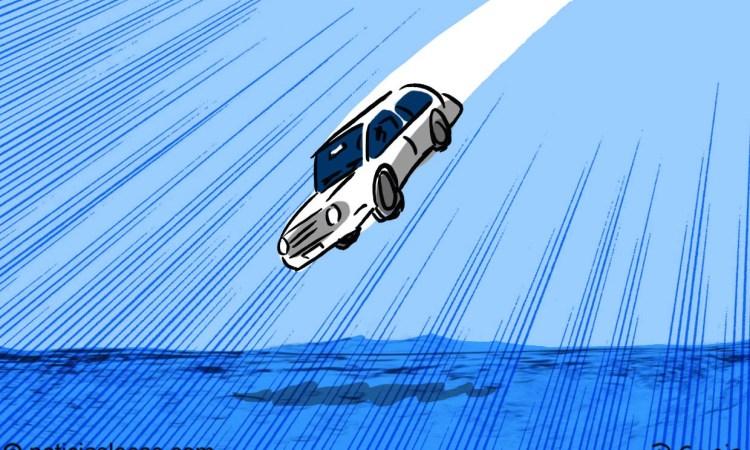 Se estrella en el río 10 minutos después de obtener su licencia de conducir