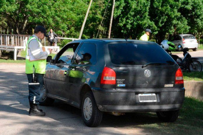 Operativos viales en Avellaneda