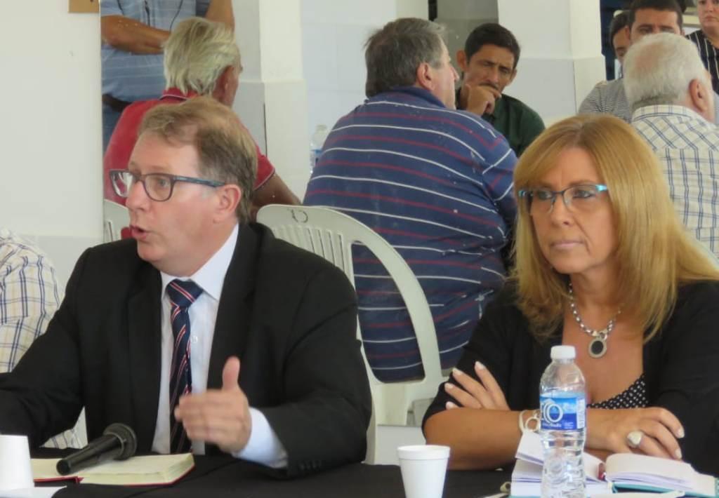 Reconquista participó de la Mesa de Seguridad Deportiva