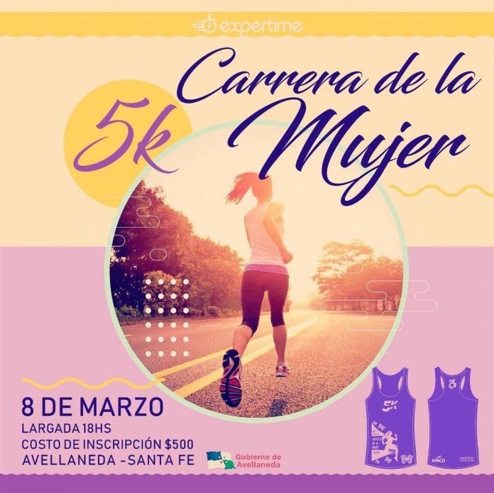 Las mujeres celebran su día con una Carrera de 5K en Avellaneda