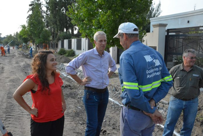 Avanza el Plan de Pavimento en Avellaneda