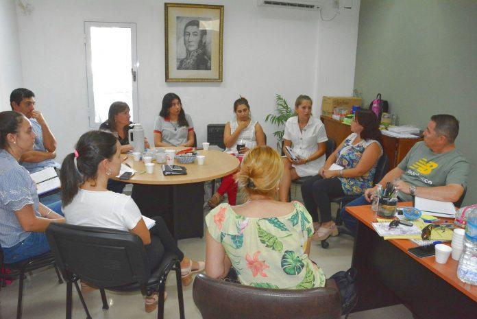 Avellaneda articula acciones interinstitucionales para fortalecer la educación